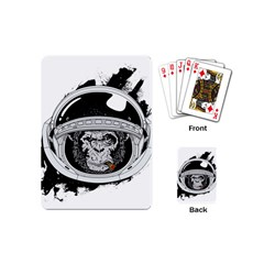 Spacemonkey Playing Cards Single Design (mini) by goljakoff