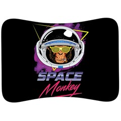 Spacemonkey New Retro Wave Velour Seat Head Rest Cushion