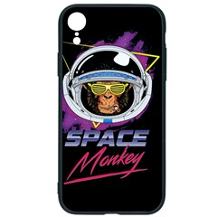 Spacemonkey New Retro Wave Iphone Xr Soft Bumper Uv Case by goljakoff