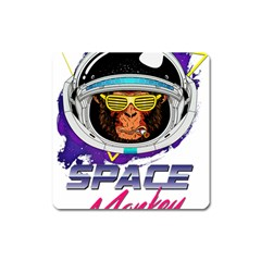 Spacemonkey Square Magnet