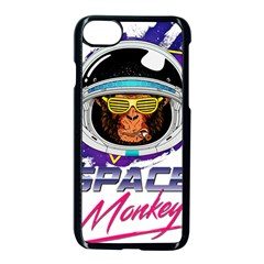 Spacemonkey Iphone 7 Seamless Case (black) by goljakoff