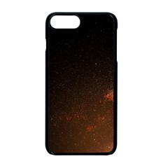 Orange Space Iphone 7 Plus Seamless Case (black) by goljakoff