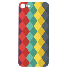 Vintage Rhombs Iphone 7/8 Soft Bumper Uv Case