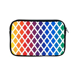 Colorful Rhombs Apple Macbook Pro 13  Zipper Case by goljakoff
