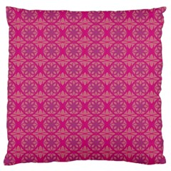 Background Texture Pattern Mandala Standard Flano Cushion Case (one Side)