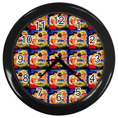Hawaii Wall Clock (black) by ArtworkByPatrick