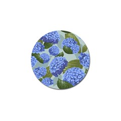Hydrangea  Golf Ball Marker (10 Pack) by Sobalvarro