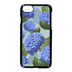 Hydrangea  Iphone 7 Seamless Case (black) by Sobalvarro