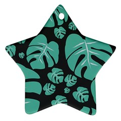 Leaves Star Ornament (two Sides)