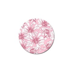 Pink Flowers Golf Ball Marker (10 Pack) by Sobalvarro