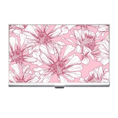 Pink Flowers Business Card Holder by Sobalvarro