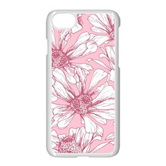 Pink Flowers Iphone 8 Seamless Case (white) by Sobalvarro