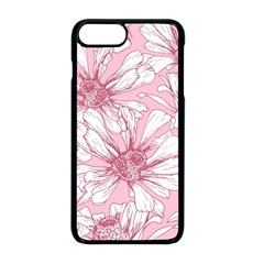 Pink Flowers Iphone 8 Plus Seamless Case (black) by Sobalvarro