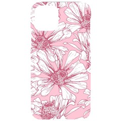 Pink Flowers Iphone 11 Black Uv Print Case by Sobalvarro