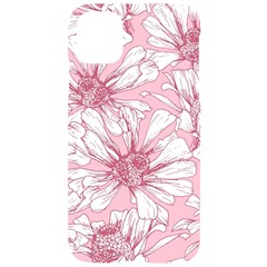 Pink Flowers Iphone 11 Pro Black Uv Print Case by Sobalvarro