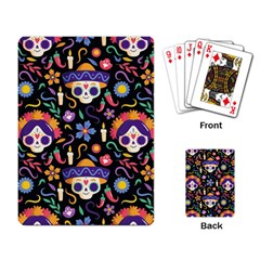 Dia De Los Muertos Playing Cards Single Design (rectangle) by Sobalvarro