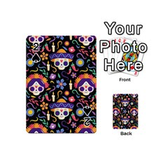 Dia De Los Muertos Playing Cards 54 Designs (mini) by Sobalvarro