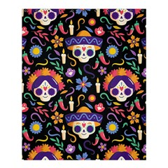 Dia De Los Muertos Shower Curtain 60  X 72  (medium)  by Sobalvarro