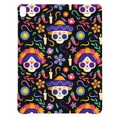 Dia De Los Muertos Apple Ipad Pro 12 9   Black Uv Print Case by Sobalvarro