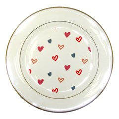 ? Pattern  Porcelain Plates by Sobalvarro