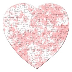 Degrade Rose/blanc Jigsaw Puzzle (heart)