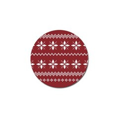 Christmas Pattern Golf Ball Marker (10 Pack) by Sobalvarro