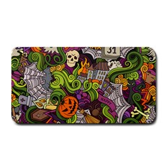 Halloween Doodle Vector Seamless Pattern Medium Bar Mats by Sobalvarro