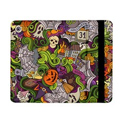 Halloween Doodle Vector Seamless Pattern Samsung Galaxy Tab Pro 8 4  Flip Case by Sobalvarro