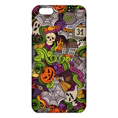 Halloween Doodle Vector Seamless Pattern Iphone 6 Plus/6s Plus Tpu Case by Sobalvarro