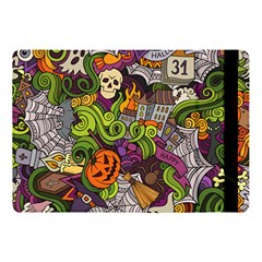 Halloween Doodle Vector Seamless Pattern Apple Ipad Pro 10 5   Flip Case by Sobalvarro