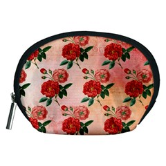 Pattern Flower Paper Accessory Pouch (medium)