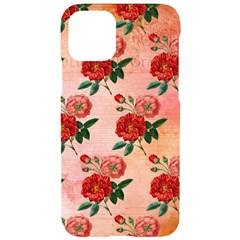 Pattern Flower Paper Iphone 11 Black Uv Print Case by HermanTelo