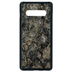 Grunge Organic Texture Print Samsung Galaxy S10 Plus Seamless Case (black) by dflcprintsclothing