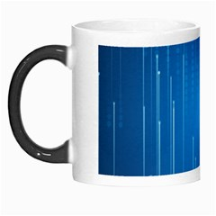 Abstract Rain Space Morph Mugs