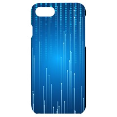 Abstract Rain Space Iphone 7/8 Black Uv Print Case