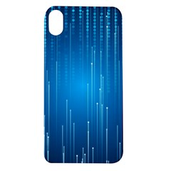 Abstract Rain Space Apple Iphone Xr Tpu Uv Case