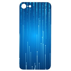 Abstract Rain Space Iphone 7/8 Soft Bumper Uv Case