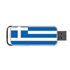 Greece Flag Greek Flag Portable Usb Flash (two Sides) by FlagGallery