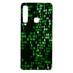 Abstract Plaid Green Samsung Galaxy A9 Tpu Uv Case