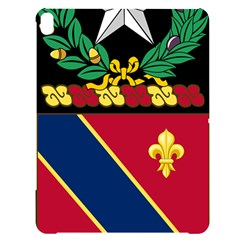 Coat Of Arms Of United States Army 133rd Field Artillery Regiment Apple Ipad Pro 12 9   Black Uv Print Case by abbeyz71