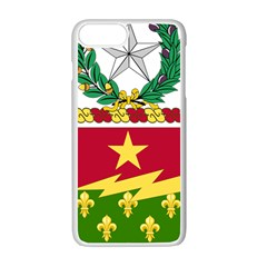 Coat Of Arms Of United States Army 136th Regiment Iphone 7 Plus Seamless Case (white)