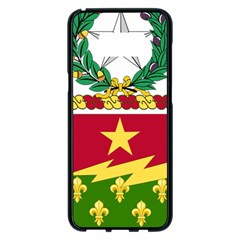 Coat Of Arms Of United States Army 136th Regiment Samsung Galaxy S8 Plus Black Seamless Case
