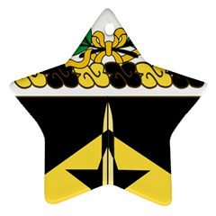Coat Of Arms Of United States Army 49th Finance Battalion Ornament (star)