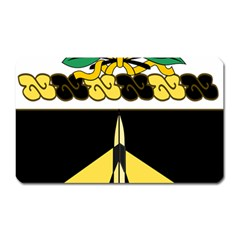 Coat Of Arms Of United States Army 49th Finance Battalion Magnet (rectangular)