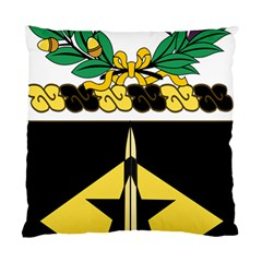 Coat Of Arms Of United States Army 49th Finance Battalion Standard Cushion Case (two Sides)