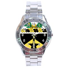 Coat Of Arms Of United States Army 49th Finance Battalion Stainless Steel Analogue Watch