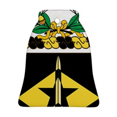 Coat Of Arms Of United States Army 49th Finance Battalion Bell Ornament (two Sides)