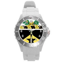 Coat Of Arms Of United States Army 49th Finance Battalion Round Plastic Sport Watch (l)
