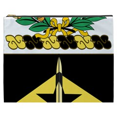 Coat Of Arms Of United States Army 49th Finance Battalion Cosmetic Bag (xxxl)