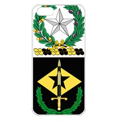 Coat Of Arms Of United States Army 49th Finance Battalion Iphone 5 Seamless Case (white)
